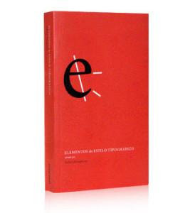 Capa do Livro - ELEMENTOS DO ESTILO TIPOGRÁFICO