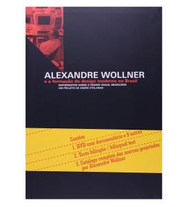 Capa do Livro - Alexandre Wollner e a formação do designer moderno