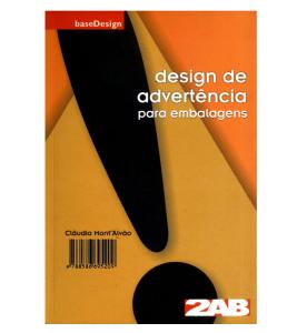 Capa do Livro - Design de advertência para embalagens