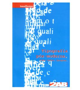 Capa do Livro - Tipografia pós-moderna